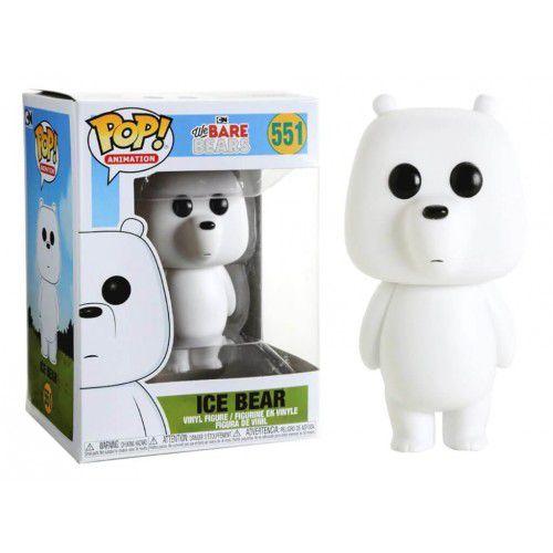 Funko Pop! Polar  (Ice Bear): Ursos sem Curso (We Bare Bears) #551 - Funko