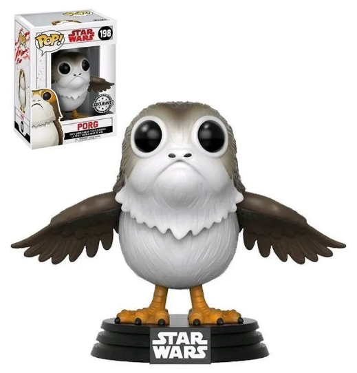 Pop! Porg: Star Wars (Disney) Exclusivo #198 - Funko