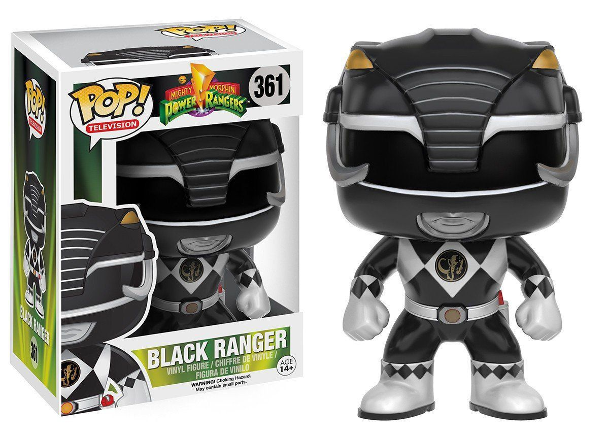 Funko Pop Funko Black Ranger (Ranger Preto): Power Rangers #361