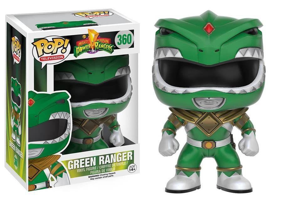 Funko Pop Ranger Verde (Green Ranger): Power Rangers #360 - Funko