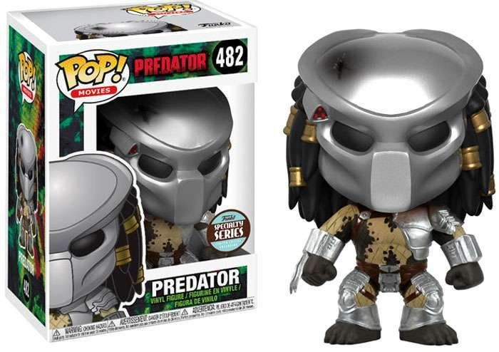 Pop Predador: Predator (Exclusivo) #482 - Funko