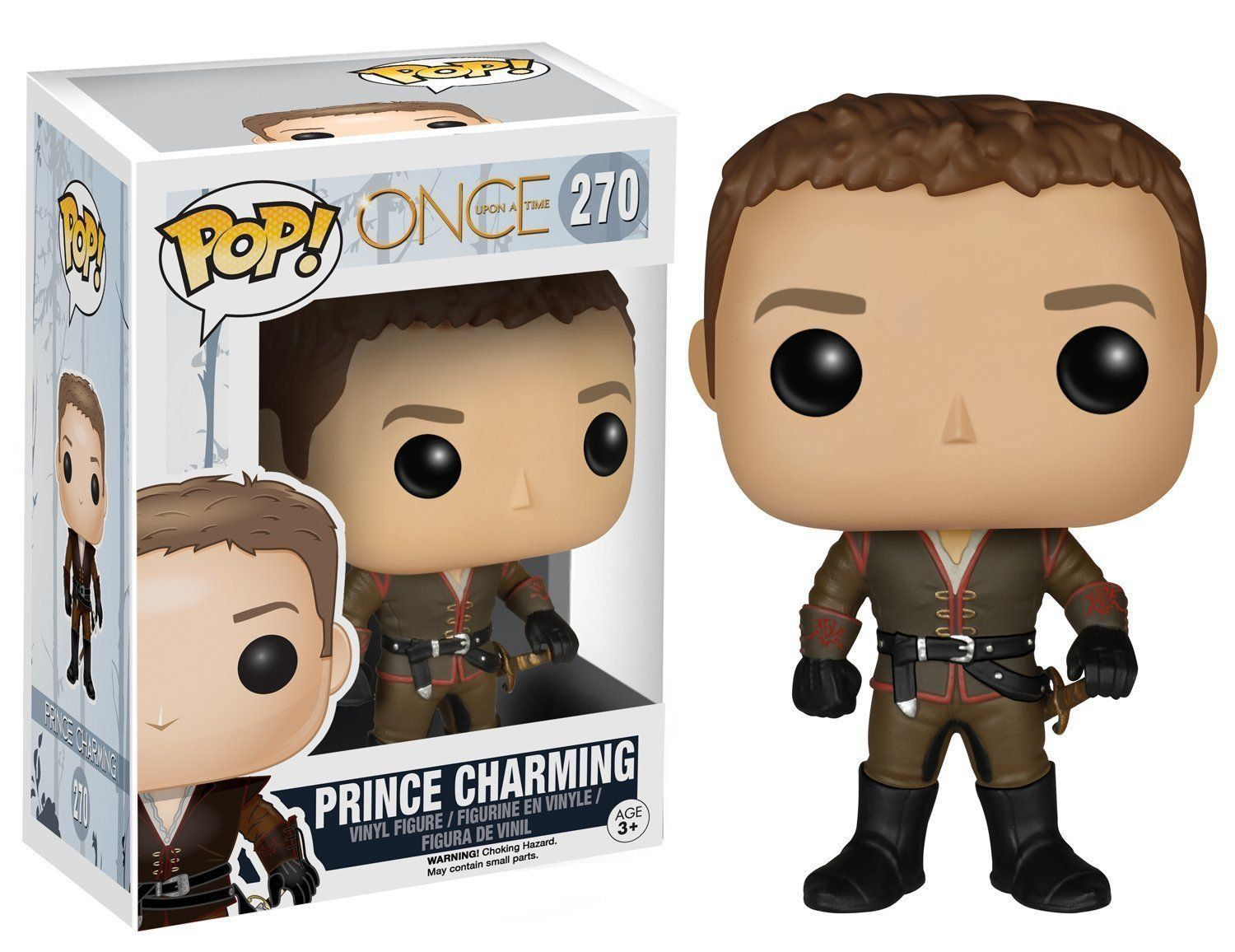 Funko Pop! Prince Charming: Once Upon a Time #270 - Funko