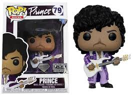 Pop! Rocks Prince: Exclusivo Fye (Diamond Collection) #79 - Funko