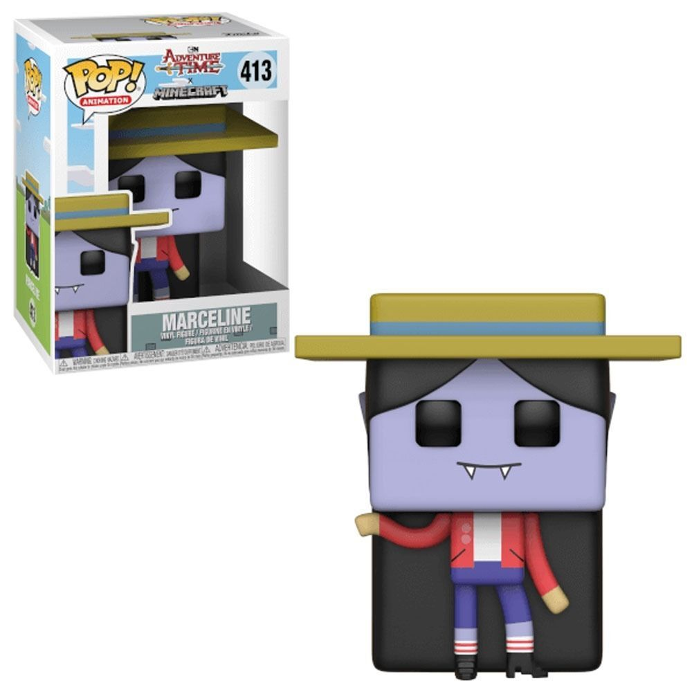 Funko Pop! Princesa Marceline: Adventure Time x Minecraft  #413 - Funko