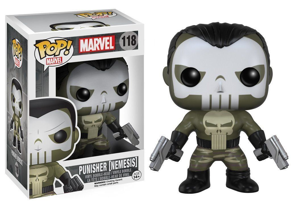 Funko Pop Punisher (Nemesis): Marvel #118 -Pop Funko