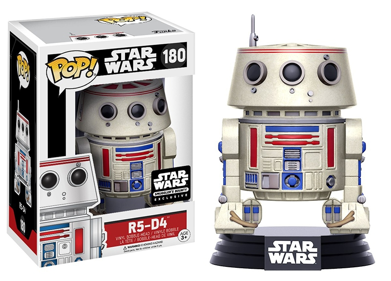Pop! R5-D4: Star Wars (Exclusivo) #180 - Funko