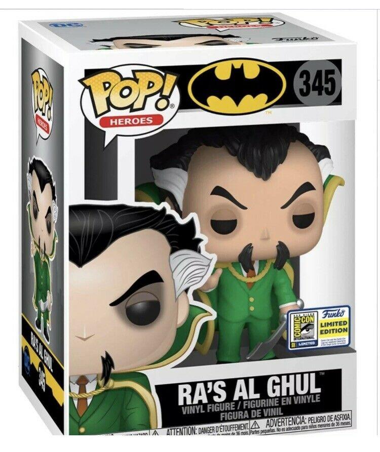 PRÉ VENDA: Funko Pop! Ra's Al Ghul: DC Comics: (EXCLUSIVO SDCC 2020) #345 - Funko