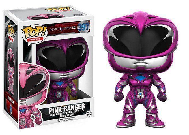 Funko Pop Ranger Rosa (Pink Ranger): Power Rangers (Filme) #397 - Funko Black Friday (Apenas Venda Online)