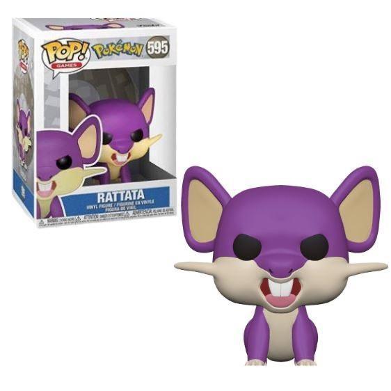 Funko Pop! Rattata: Pokemon S3 #595 (Game) - Funko