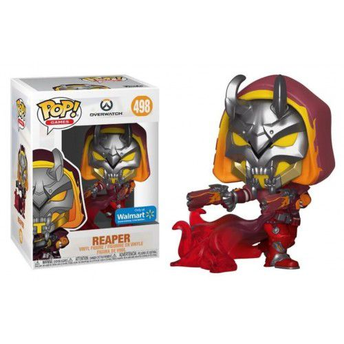 Pop! Reaper (Hell Fire): Overwatch #498 - Funko (Exclusivo) - Funko (Apenas Venda Online)