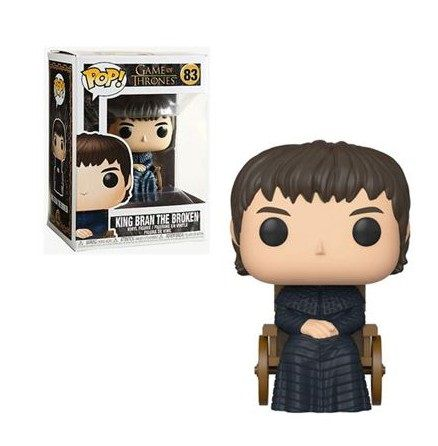 Funko Pop! Rei Bran, o Quebrado (King Bran the Broken): Game of Thrones (8ª Temporada - Season Eight) #83 - Funko