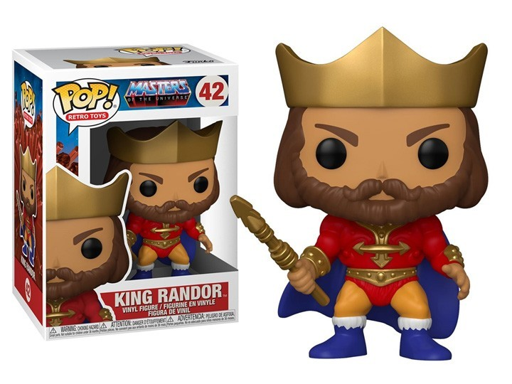 PRÉ VENDA: Funko Pop! Rei Randor (King Randor): Mestres do Universo (Masters of the Universe) #42  - Funko