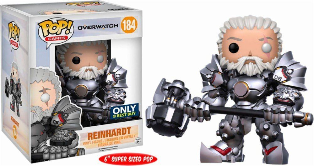 Pop Reinhardt: Overwatch #184 (Exclusivo) - Funko