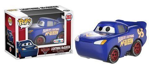 Funko Pop Relâmpago McQueen Azul (Lightning McQueen): Carros 3 (Exclusivo) #283 - Funko