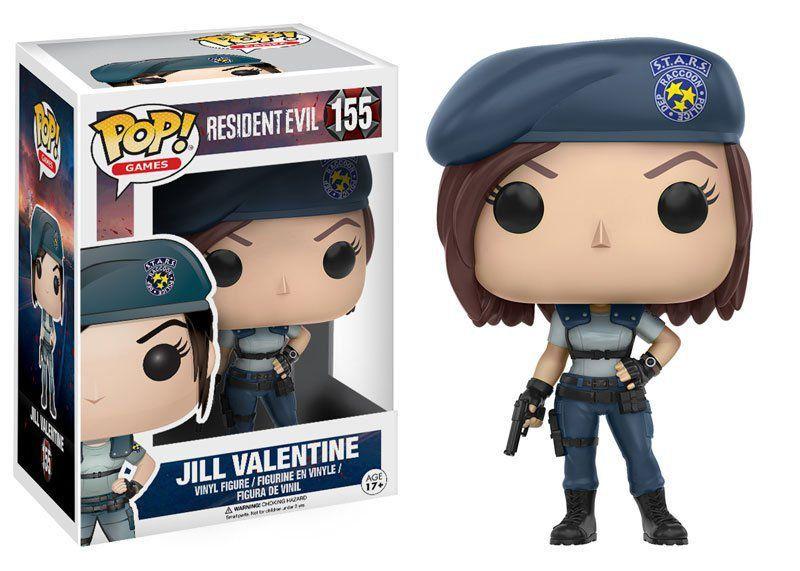 PRÉ VENDA: Funko Pop! Resident Evil: Jill Valentine #155 - Funko