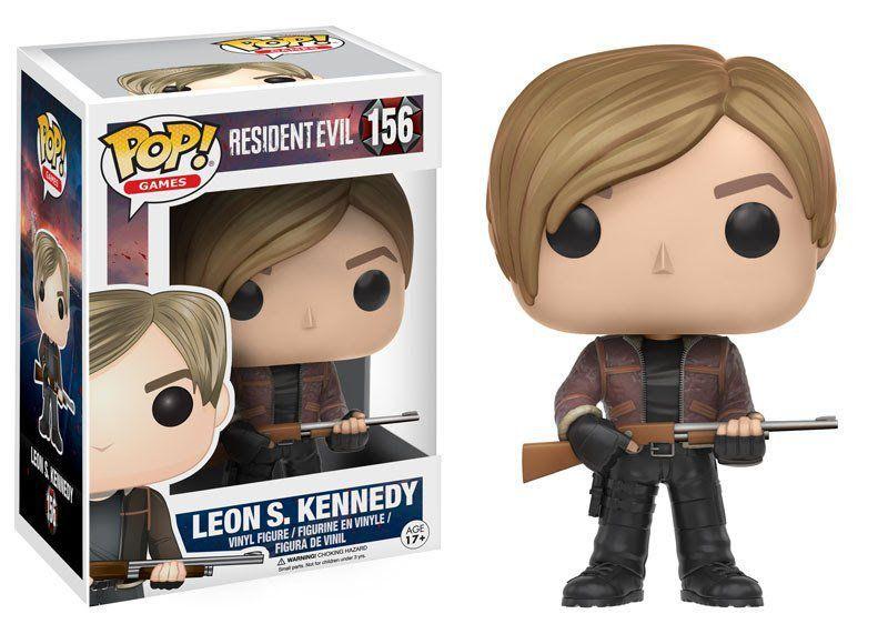 Funko Pop Leon S. Kennedy: Resident Evil #156 - Funko