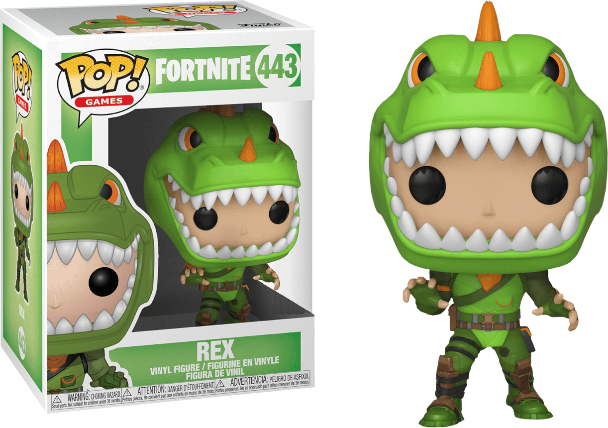 Funko Pop! Rex: Fortnite #443 - Funko