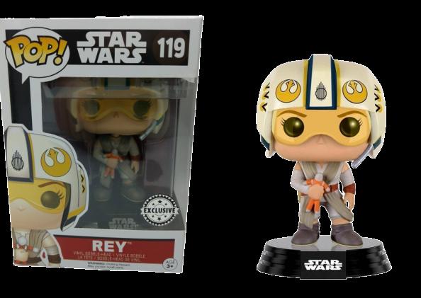 Funko Pop! Rey: Star Wars (Exclusivo) #119 - Funko