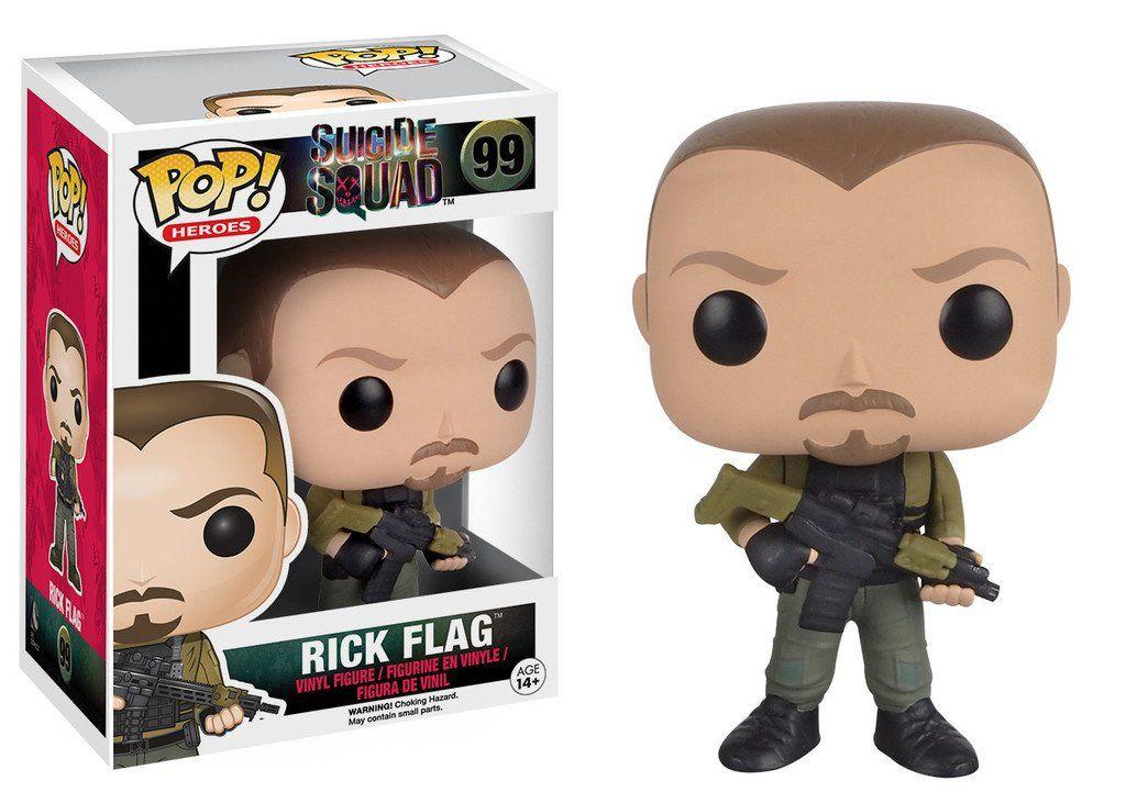 Funko Pop Rick Flagg: Esquadrão Suicida #99 - Funko