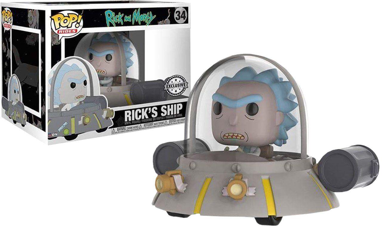 Pop! Rick´s Ship: Rick and Morty (Exclusivo) #34 - Funko