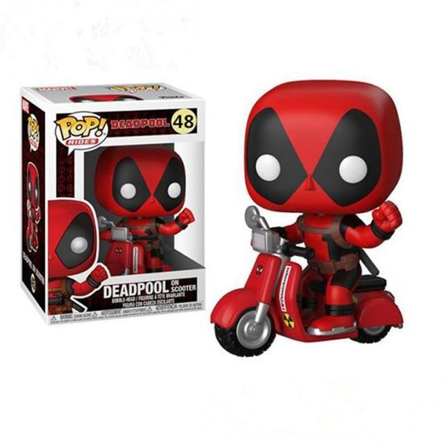 Funko Pop! Riders Deadpool and Scooter : Marvel #48 - Funko