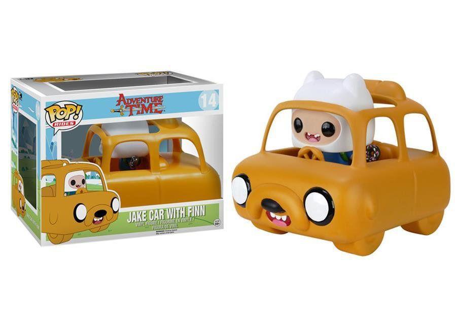 Funko POP! Rides Adventure Time: Jake Car e Finn - Funko