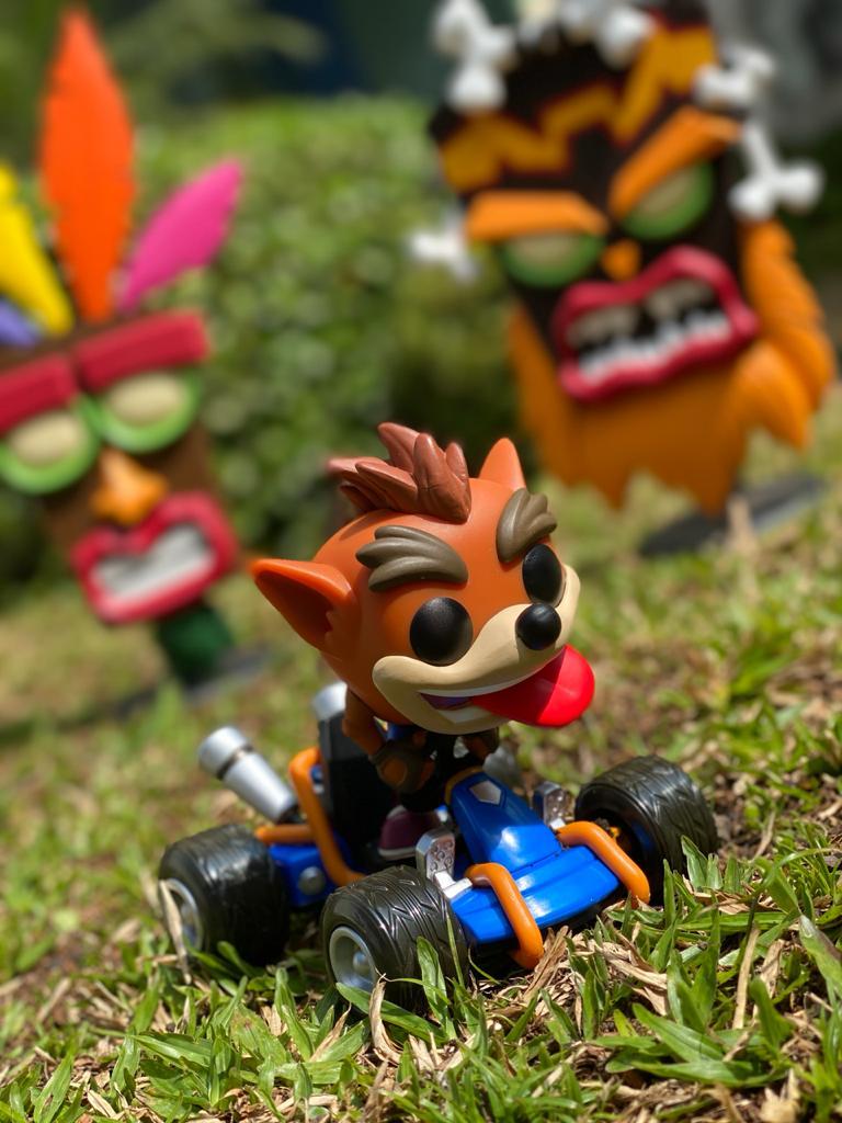 Funko Pop! Rides Crash Bandicoot: Crash Team Racing (CTR) #64 - Funko