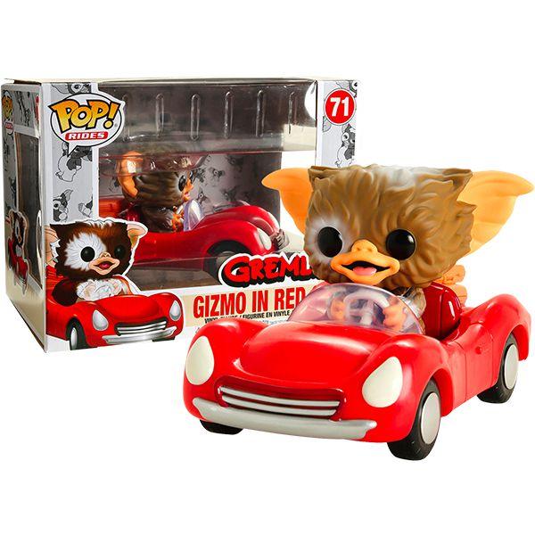 Funko Pop! Rides Gizmo no Carro Vermelho (In Red Car): Gremlins (Exclusive) #71 - Funko