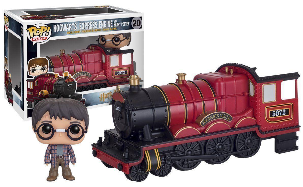 Funko Pop Rides Harry Potter com Transporte (Hogwarts Express Engine): Trem Harry Potter #20 - Funko