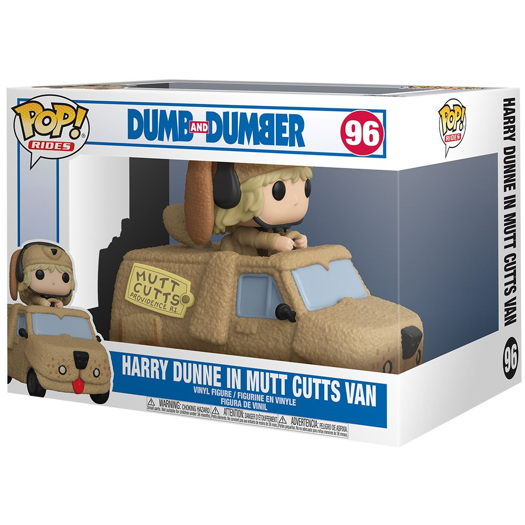 PRÉ VENDA: Funko Pop! Rides: Harry with Mutts Cutts Van: Debi & Loide (Dumb and Dumber)  #96 - Funko
