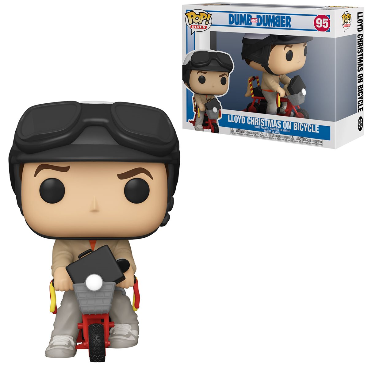 Funko Pop! Rides: Lloyd with Bicyle: Debi & Loide (Dumb and Dumber)  #95 - Funko