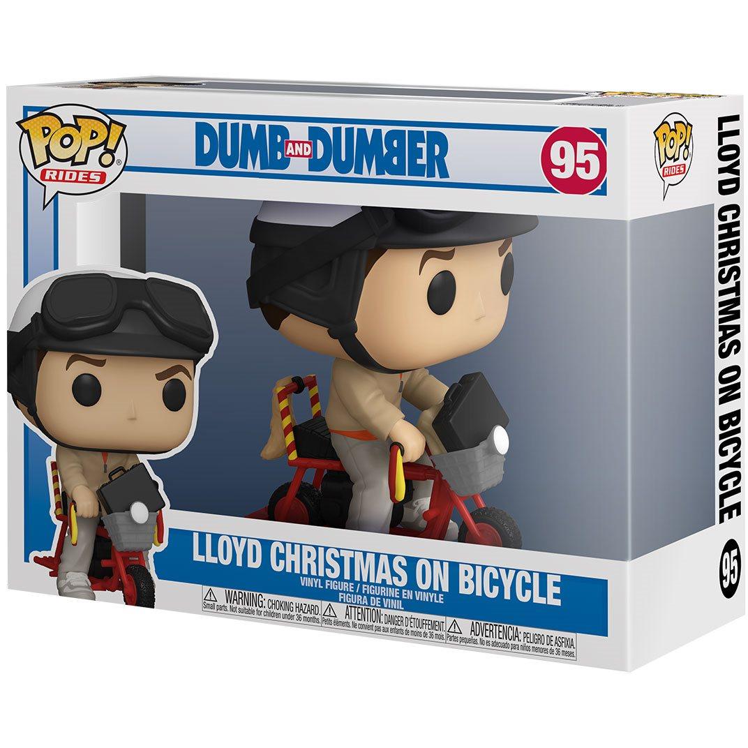 Funko Pop! Rides: Lloyd with Bicyle: Debi & Loide (Dumb and Dumber)  #95 - Funko
