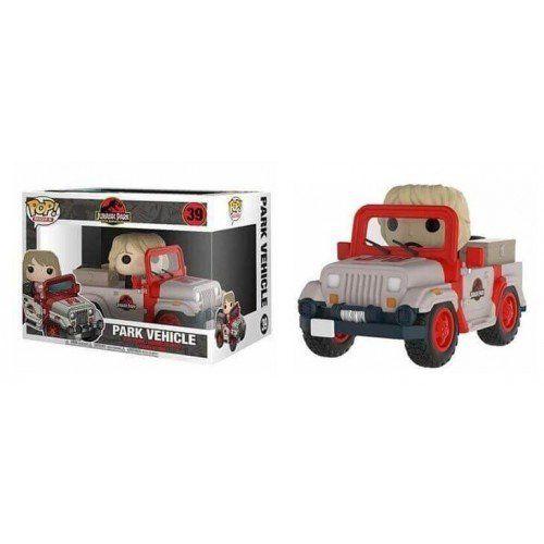 Funko Pop! Rides Park Vehicle: Jurassic Park (25th anniversary) #39 - Funko