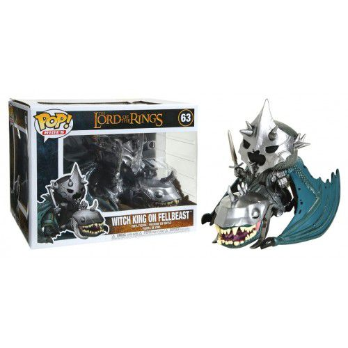 Pop! Rides Witch King on Fellbeast: O Senhor dos Anéis (The Lord of the Rings) #63 - Funko