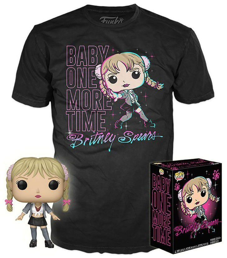 Kit Exclusivo Pop! Rocks Collectors Box: Britney Spears (Baby One More Time) - Funko (Apenas Venda Online)