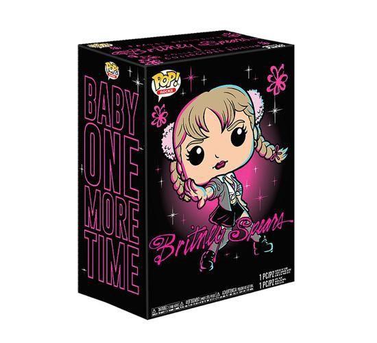 Funko Kit Exclusivo Pop! Rocks Collectors Box: Britney Spears (Baby One More Time) - Funko (Apenas Venda Online)