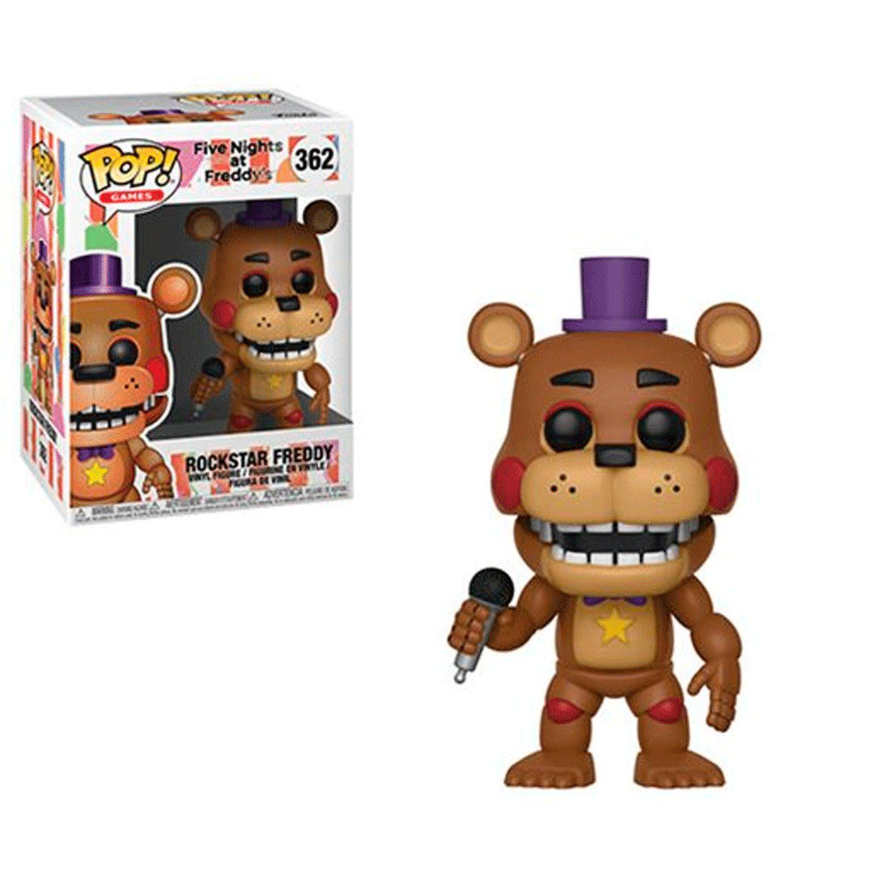 Funko Pop! Rockstar Freddy: Five Nights at Freddy's #362 - Funko