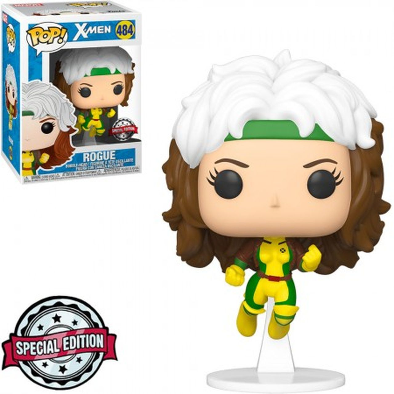 Pop! Rogue (Vampira): X-Men (Exclusivo) Special Edition #484 - Funko