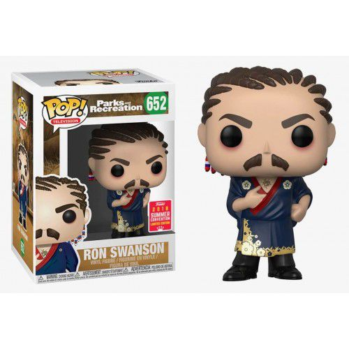 Pop! Ron Swanson: Parks and Recreation (Exclusivo SDCC 2018) #652 - Funko