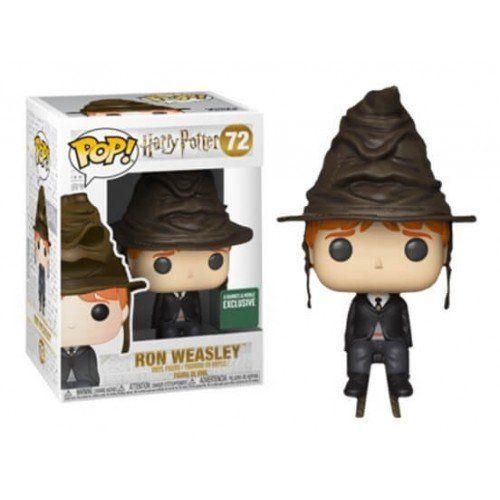 Pop! Ron Weasley (Sorting Hat): Harry Potter (Exclusivo) #72 - Funko