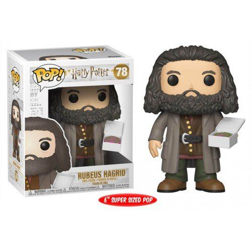 Funko Pop Rubeus Hagrid (Birthday Cake): Harry Potter (Exclusivo) #78 - Funko