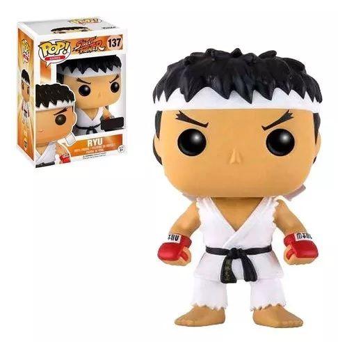 Funko Pop! Ryu: Street Fighter (Exclusivo) #137 - Funko