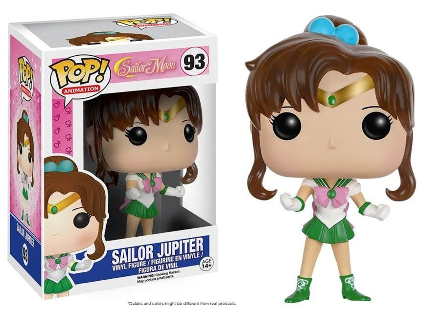 Funko Pop Sailor Jupiter: Sailor Moon #93 - Funko