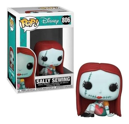 Funko Pop! Sally Sewing: The Nightmare Before Christmas (O Estranho Mundo de Jack) #806 - Funko