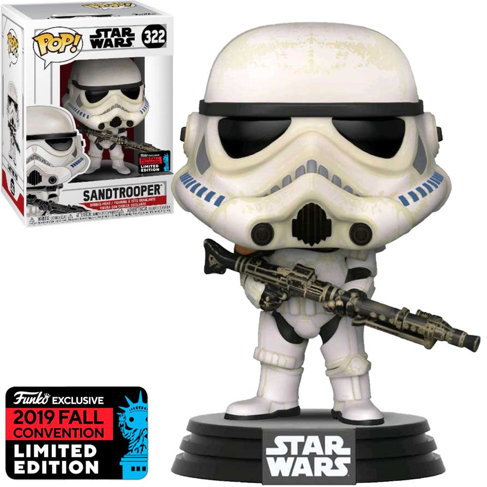 Pop! Sandtropper: Star Wars (Exclusivo NYCC) #322 - Funko
