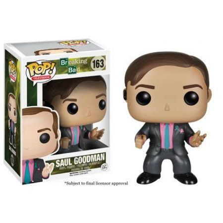 Funko POP! Saul Goodman Breaking Bad - Funko