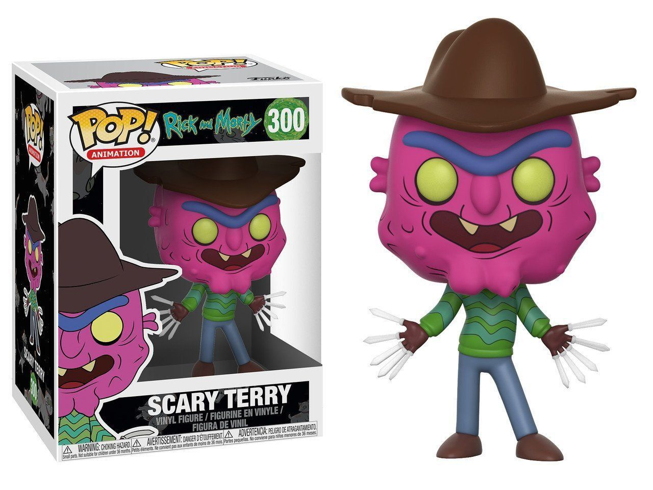 Funko Pop! Scary Terry: Rick and Morty #300 - Funko