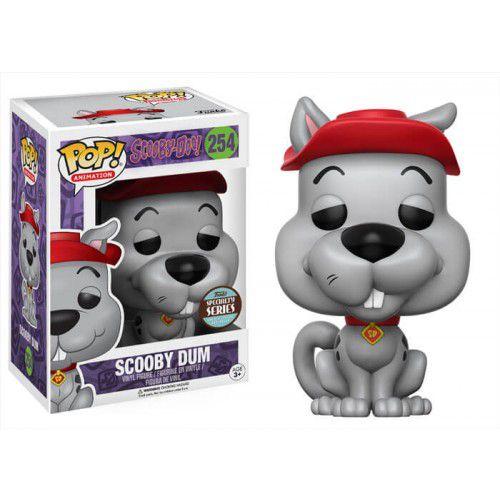 Pop! Scooby Dum: Scooby-Doo! (Exclusivo) #254 - Funko