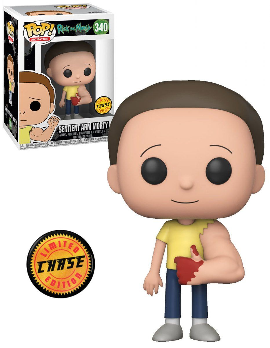 Pop! Sentient Arm Morty (Chase): Rick and Morty #340 - Funko