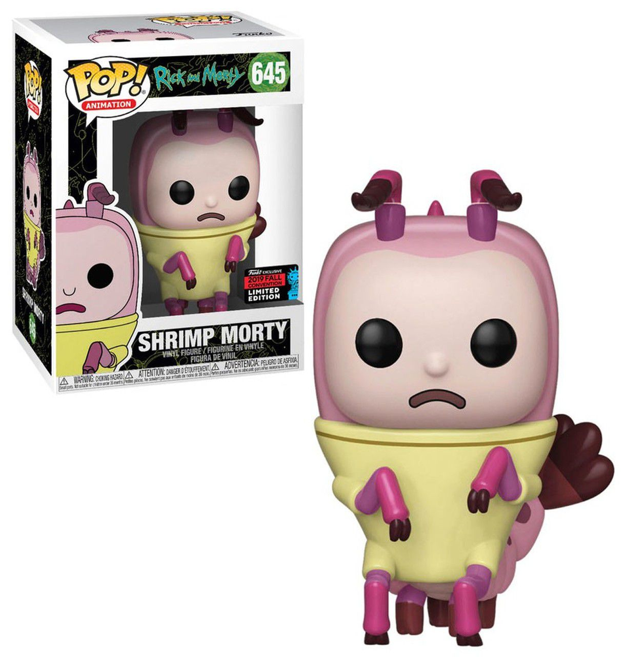 Pop! Shrimp Morty: Rick & Morty (Exclusivo NYCC) #645 - Funko